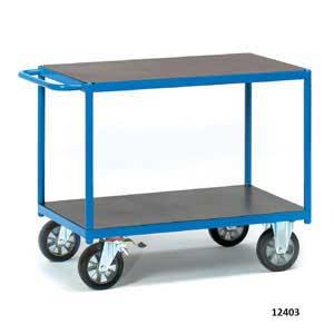 H/D 2-shelf Table top Trolley