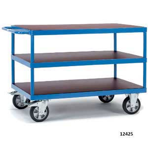 HD 3 Shelf<br /><br /><br /> Table Top Cart / Trucks 1200kg capacity