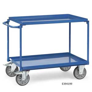 Steel workshop cart