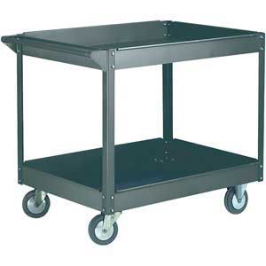 Two tier budget workshop trolley