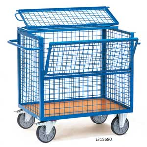 Wire Mesh<br /><br /><br /> Box Trucks / Trolleys