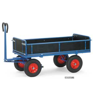 4-sided hand Truck, Rubber Tyres