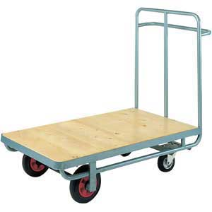 Firm<br /><br /><br /> Loading Trolley with Handle One End 250kg<br /><br /><br /> capacity
