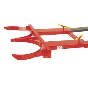 210 Litre Double Drum Clamp forklift attachment