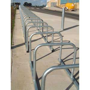 Sheffield Hoop Bike Racks