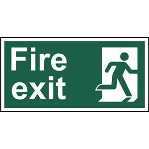 Final Exit Right Sign