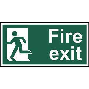 Final Exit Left Sign