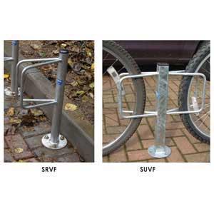 Bike Storage Racks - Post Mounted