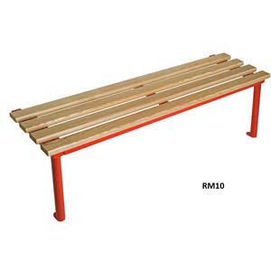 Club Round Frame Mono Changing Room Bench