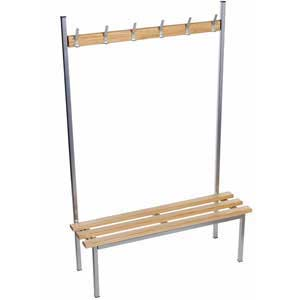 Evolve Solo Cloakroom Bench with NO top shelf