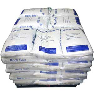 Pallets of Rock Salt