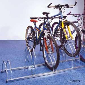 Floor or Wall fix Bike Racks for 5 Bikes