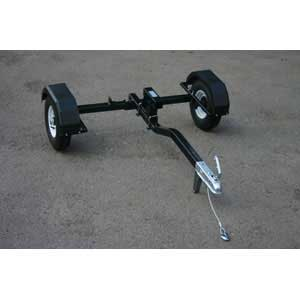 Trailer Unit for Magnum Salt Spreaders