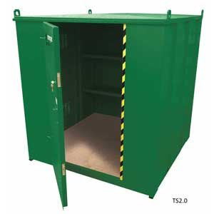 TuffStor Walk-In Containers
