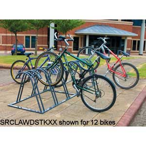 Claw bike rack