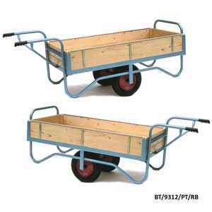 Single Handle Balance Trolley with Solid Ends & Sides