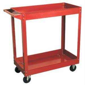 Light Duty 2 tier Workshop Trolley