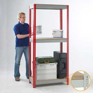 Express Delivery Standard & Heavy Duty Shelving Bays