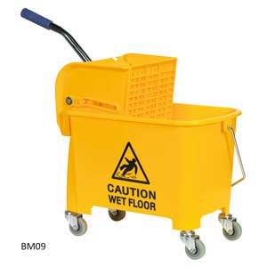 Sealey<br /><br /><br /> 20ltr Mop Bucket on Wheels