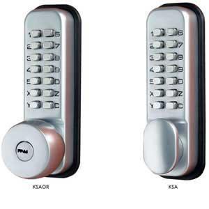 Digital Door Locks - Mechanical Standard Duty