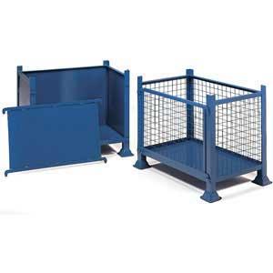 1 Tonne Detachable Side Mesh or Steel Pallets