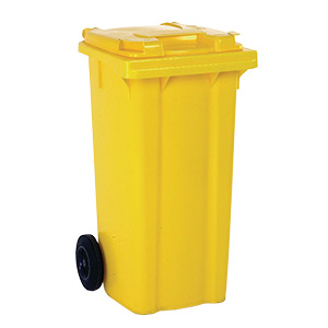 120 Litre Wheelie Bins in 5 Colours