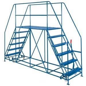 Double Side Access Platforms 3 to 10 treads, 1.5m platform Depth