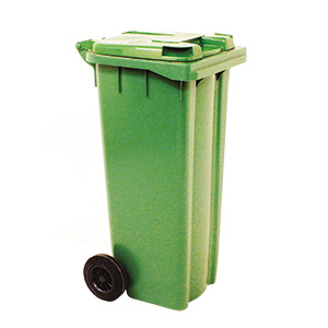 140 Litre Wheelie Bins in 5 Colours