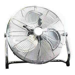 "18"" Chrome Floor Fan"