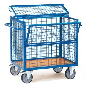 Wire mesh Box Trucks, Light Duty