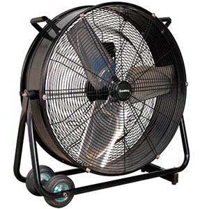 "24"" Industrial High Velocity Drum Fan"
