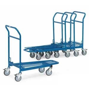 Single and Double Platform Warehouse Trolleys