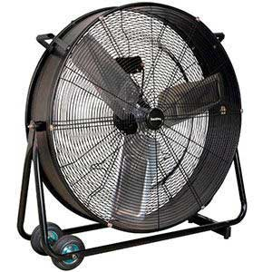 "30"" Industrial High Velocity Drum Fan"