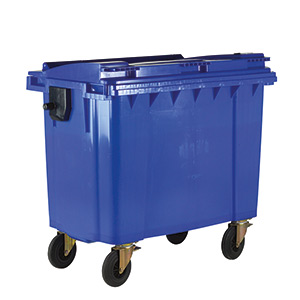 4 Wheeled Bin with Lockable Lid