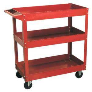 Light Duty 3 Level Workshop Trolley