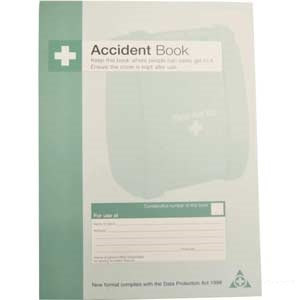 Health & Safety Accident Log Book