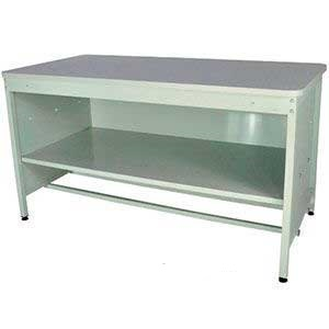840mm High Enclosed Mailroom Workbench with Middle Shelf & MFC Worktop