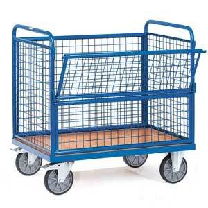 Wire Mesh Box Trucks / Trolleys