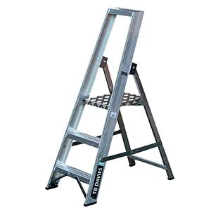 Professional Platform Step Ladders 3 to 12 Tread Options