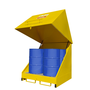 External Bunded Oil Drum Storage
