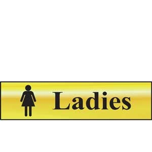 Ladies Mini Sign