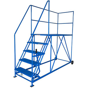 Single Side Access Platforms 3 to 10 treads, 1.60m platform depth