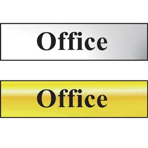 Traditional Office Mini Sign with FAST UK Delivery