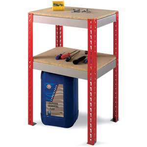 Add-on Just workbench with undershelf