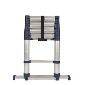 Aluminium Alloy Telescopic Ladders with Stabilisers