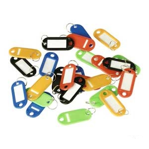 Assortment of Long Key Tags