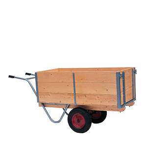 Balanced General Purpose Trucks with Wood Sides and Ends
