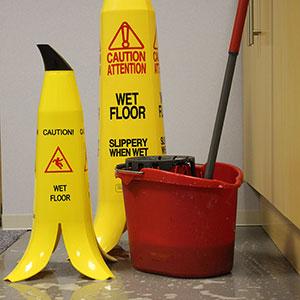 Banana Wet Floor Safety Cones (Pack of 3)
