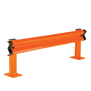 Barrier Rail Kits for Pallet Racking Aisle Ends