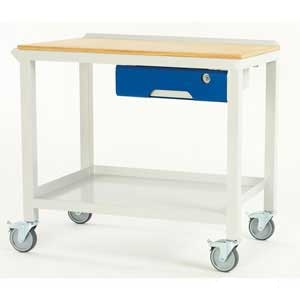 Basic Fully Welded Steel Workbenches With Drawer